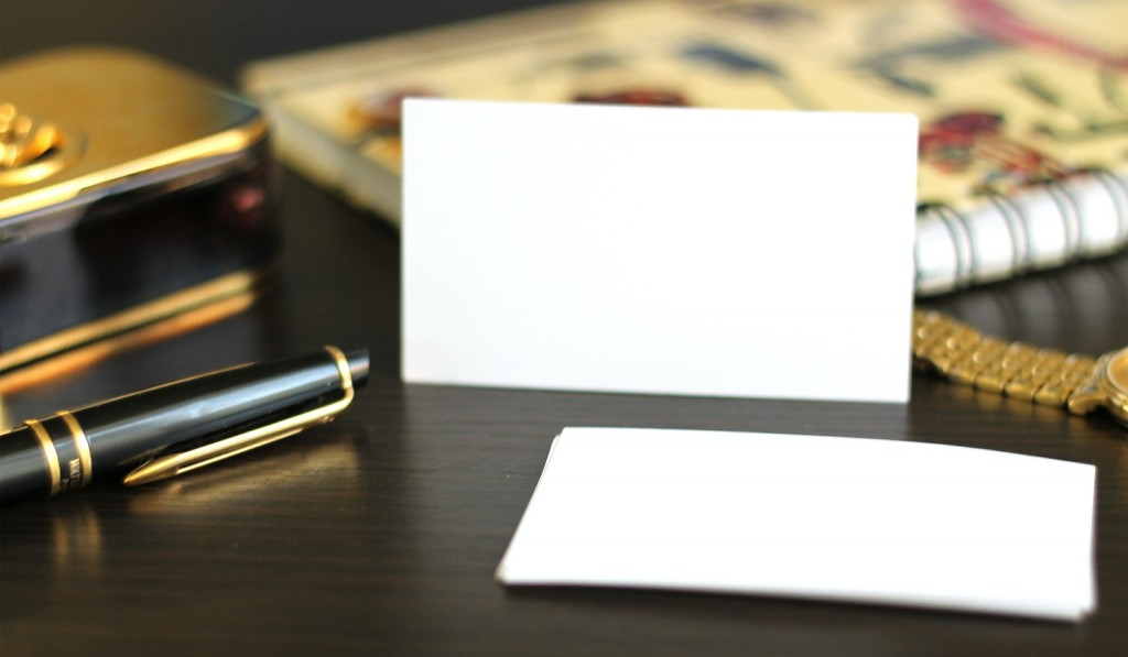 WHY PEOPLE TOSS BUSINESS CARDS